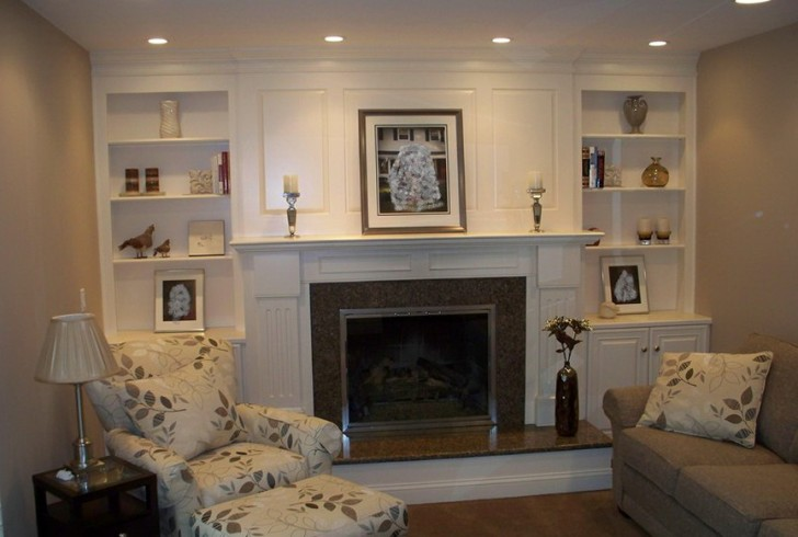 Permalink to Ideas For Bookshelves Around Fireplace