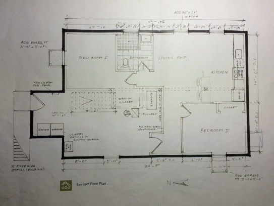 UDU Design ADU 1 Floor Plan