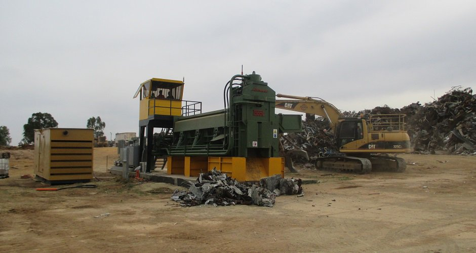 Shearing and baling equipment