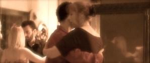 Dancing at a milonga