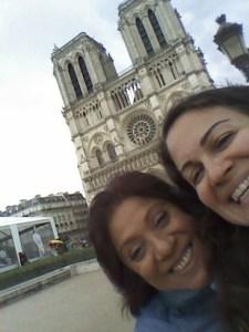 Notre Dame with La Leona