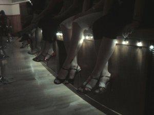Ladies sitting at milonga