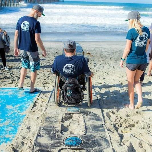 Beach Trax US Open adaptive surfing gallery-1