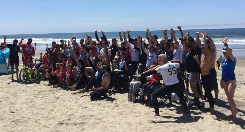 Junior Seau Foundation Adaptive Surfing Program