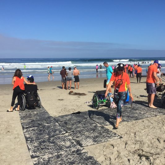 Beach Trax platform