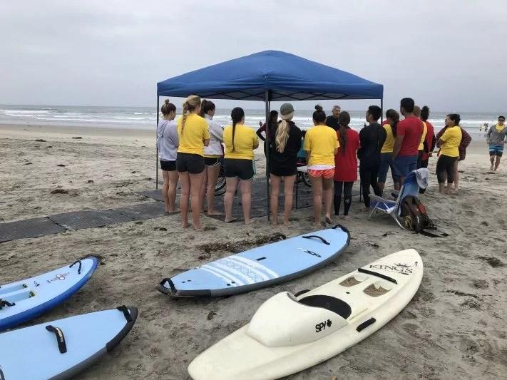 Beach Trax Beach Clean-up & Surf Session