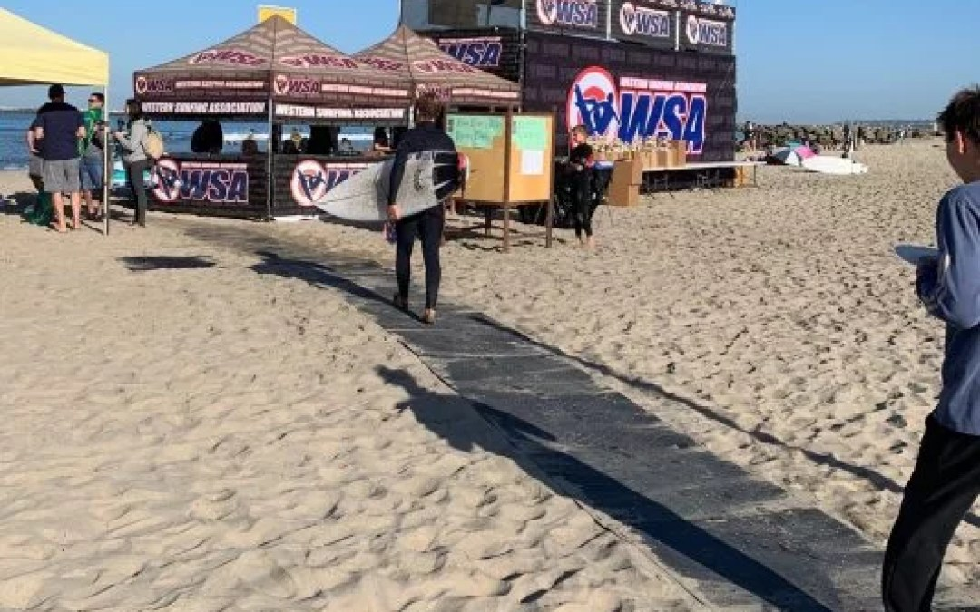 Western Surfing Association Partners with Access Trax for Accessible Events