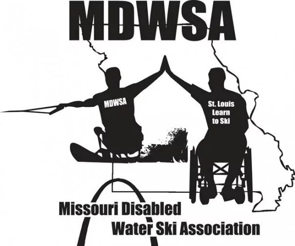 Logo for the Missouri Disabled Water Ski Association