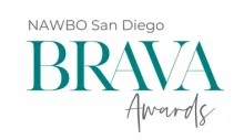 Logo for 2020 BRAVA Awards. Text says: