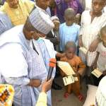 RAMADAN WELFARE: GOV MATAWALLE LAUNCHES DISTRIBUTION OF OVER 180,000 BAGS OF ASSORTED GRAINS, CLOTHING MATERIALS IN ZAMFARA STATE.