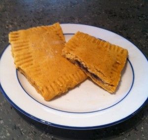blueberry pumpkin pop tarts
