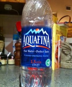 1.5 liter water bottle
