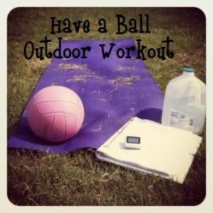 Outdoor Mat Workout