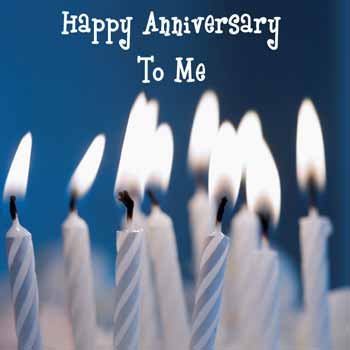 Image result for happy anniversary to me