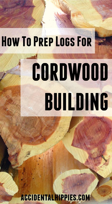 Cordwood masonry | Natural Building | Log Construction