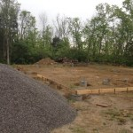 Gravel for foundation