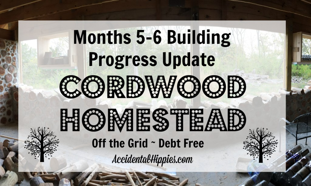Here is the complete run-down of everything we accomplished from mid-September to the end of October in building our cordwood house - off the grid, paying cash as we go!