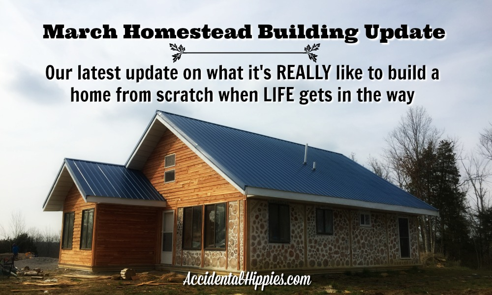 We're building a cordwood house by hand. In this update we've gotten a lot done, but it's been a wild ride to get there, we've...