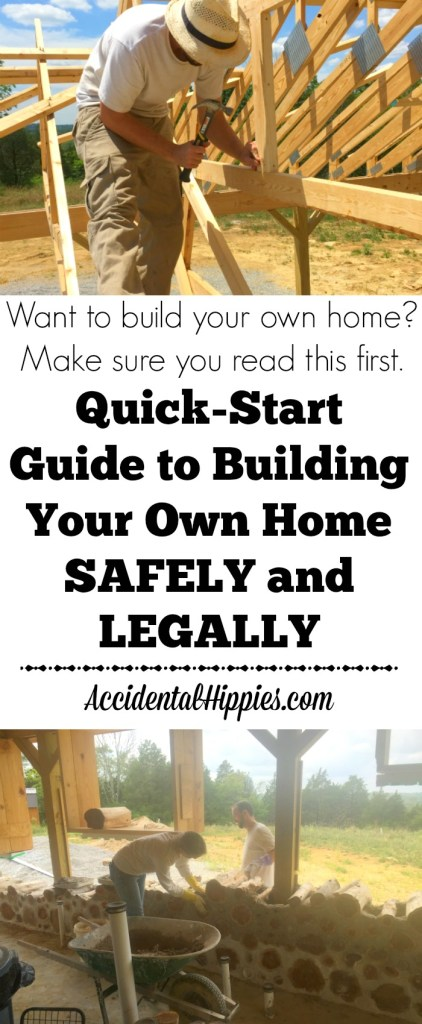 Want to build your own home? Check here first for info on how to build LEGALLY and SAFELY #naturalbuilding #cordwood #strawbale #earthship