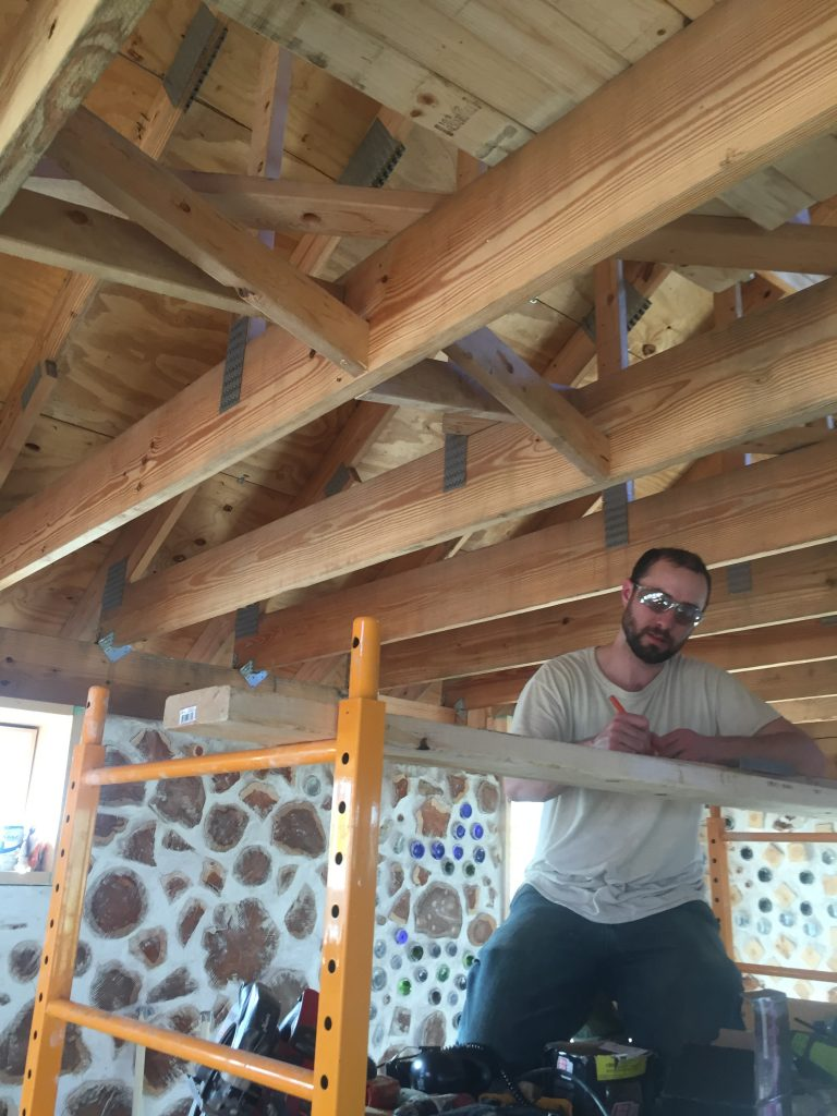 DIY cross bracing for floor joists
