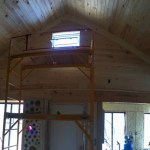 Building a Cordwood House: July and August Progress Report