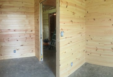 Learn about everything we completed in this phase of our cordwood homebuilding project