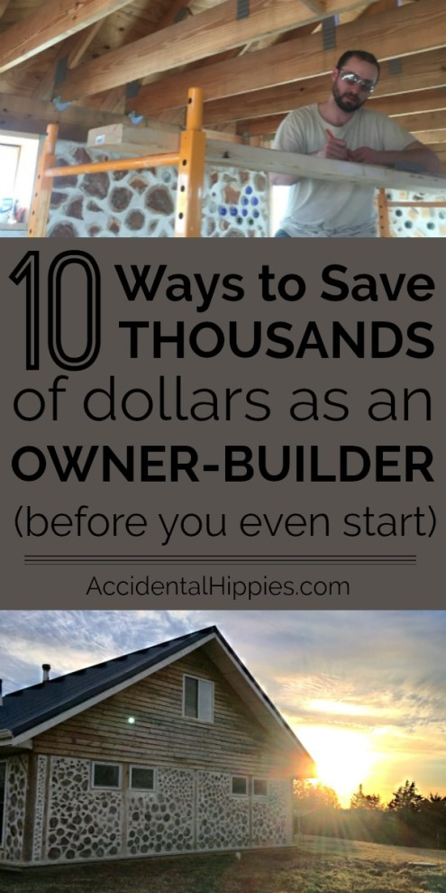 Building a house can be expensive, but there are tons of ways to save money if you build it yourself. Check out these 10 ways we found to save thousands of dollars before you even START building!