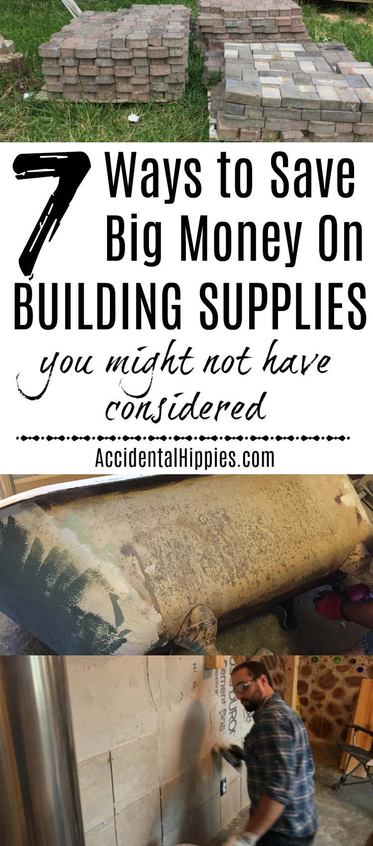 Reader suggestions for even more ways to save money on building supplies. I wish we'd done more of number 3!