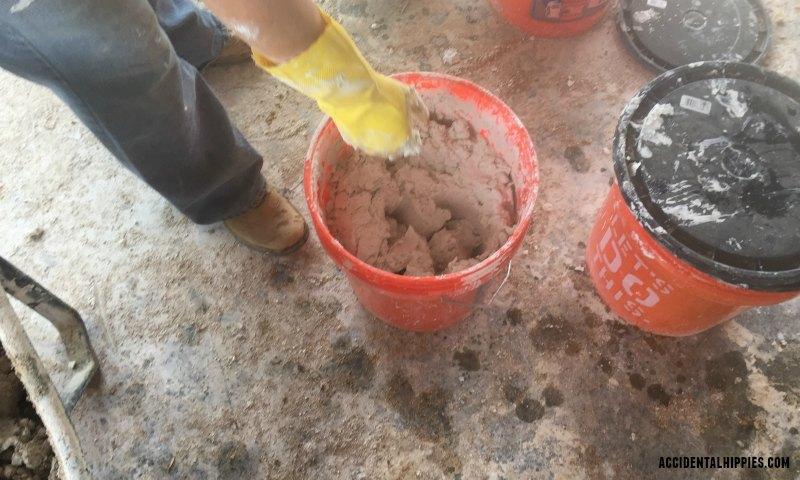 Mortar Mixes for Cordwood Masonry