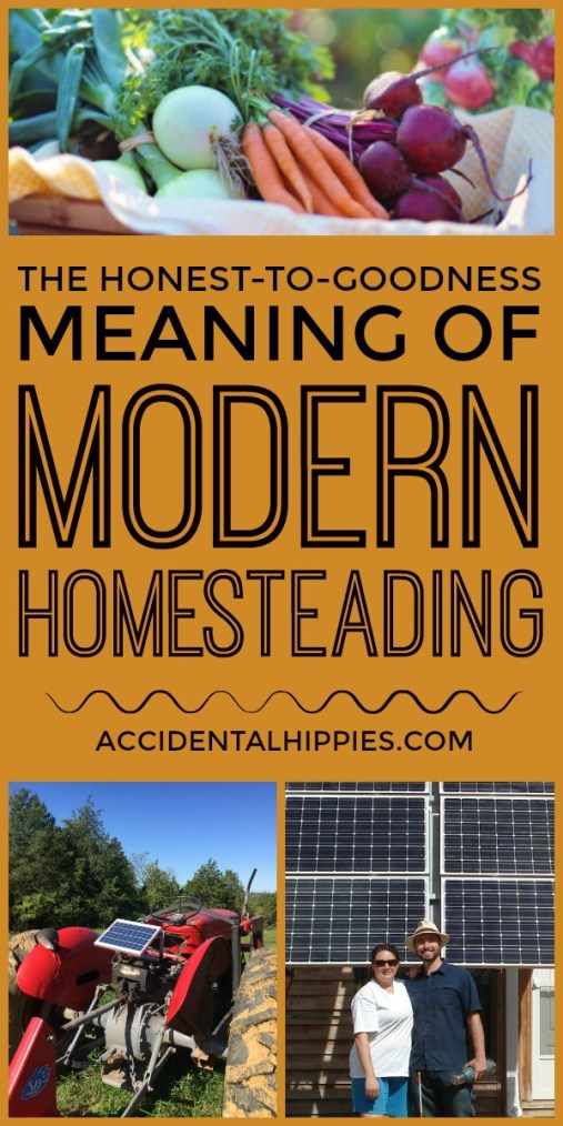 Modern homesteading has many different meanings to lots of people these days. But what is it really? This is how we stumbled into modern homesteading and the beautiful takes on it from other homesteaders. Do you agree with these definitions?