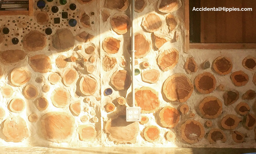 Running electrical in or on cordwood presents interested challenges. Here's a primer on what to know before you build your cordwood home.