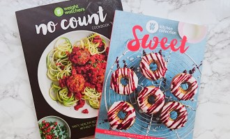 Weight Watchers Sweet and No Count Cookbooks