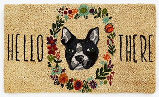 Dog doormat Uncommon Goods