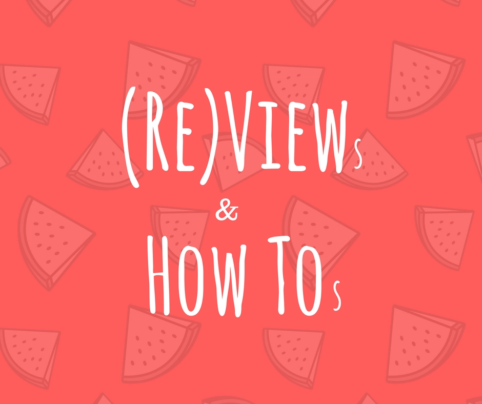 Views, Reviews & How-Tos Linky: Week 5