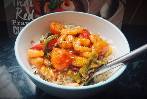 Simply Cook Thai Red Prawn Curry