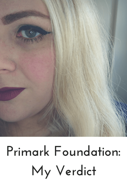 Primark's foundation was a big point of discussion in the beauty groups I'm in. It's hard to find a good foundation that doesn't oxidise and lasts the day. That's why I was surprised when everyone started raving about this Primark foundation. I had to try it for myself, come and see what I thought.