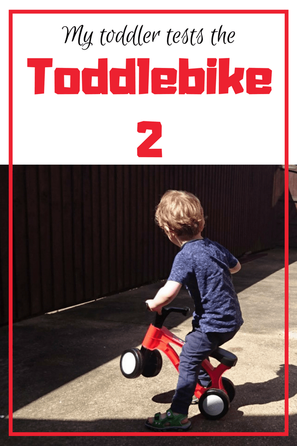 The Toddlebike 2 is a lot like a toddler trike, except it had 4 wheels and is made with their development in mind. I googled tricycle for 2 year old and found nothing like what I wanted in he past. This toddler trike would make the perfect gift for 18 month to 3 year olds. Click to read more and see pictures of it in action #toddlebike #toddlertrike #trike #kidstrike