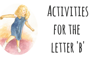 Activities for the letter 'b'