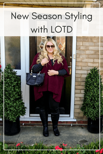 If you're looking for affordable fashion with up-to-date styles and a huge variety of designs then look at what LOTD has for you. Here's what I bought and how I styled it. Look of the day, outfit of the day, plus size outfit ideas, plus size outfit of the day #plussize #ootd #lotd