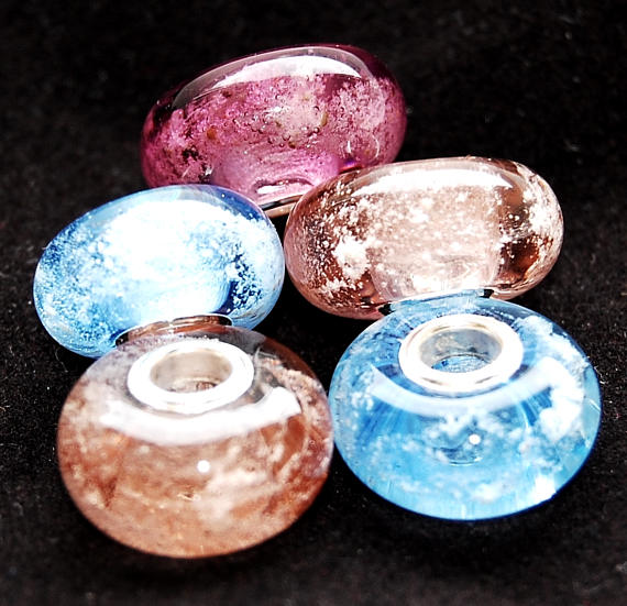 lampwork memory beads turn ashes into jewellery