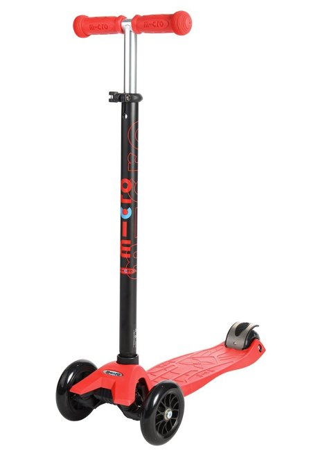 maxi micro scooter in red