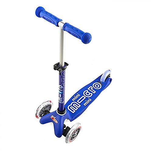 mini micro scooter deluxe in blue