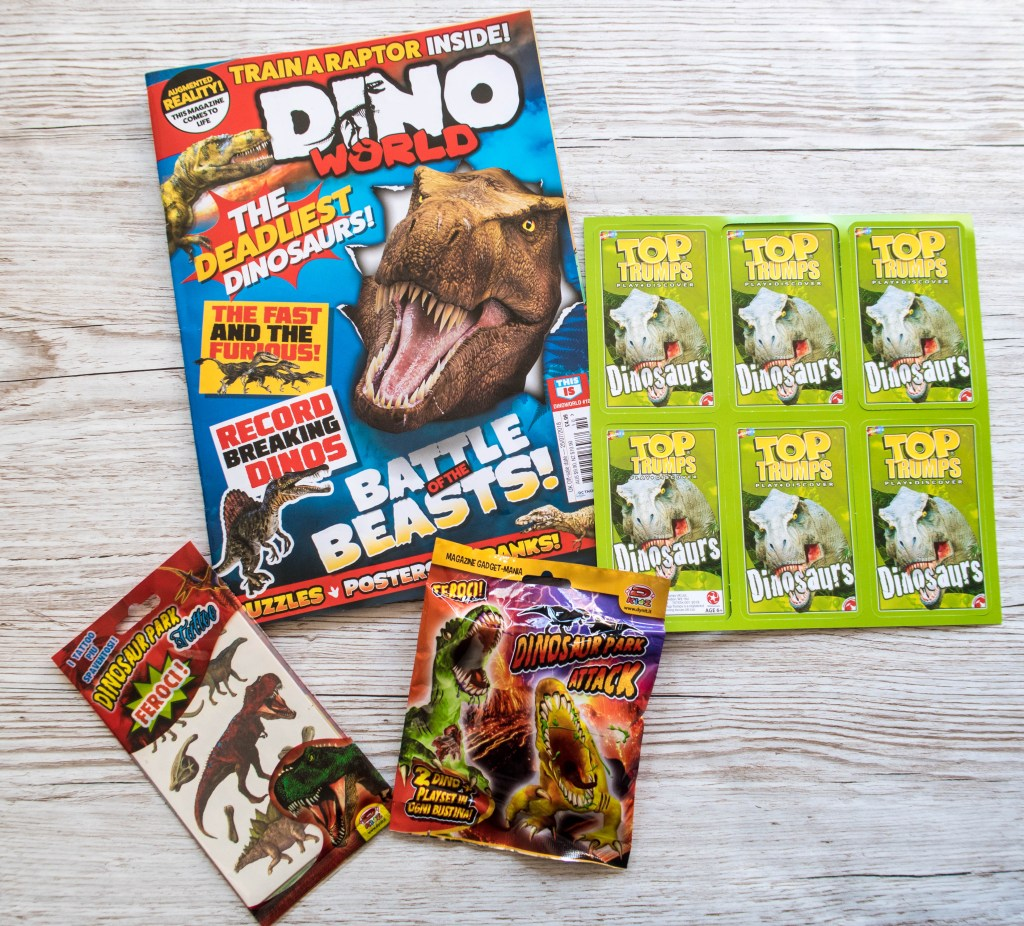 This Is Dino World Magazine