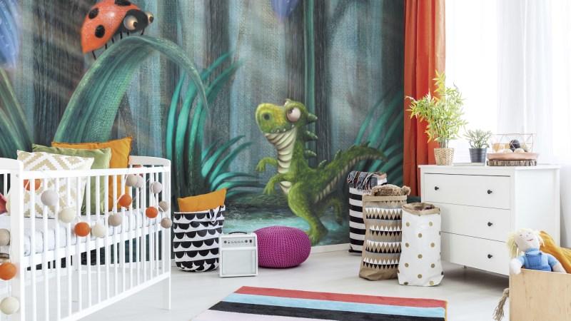 Creating a Dinosaur Themed Big Boy Bedroom for my Son