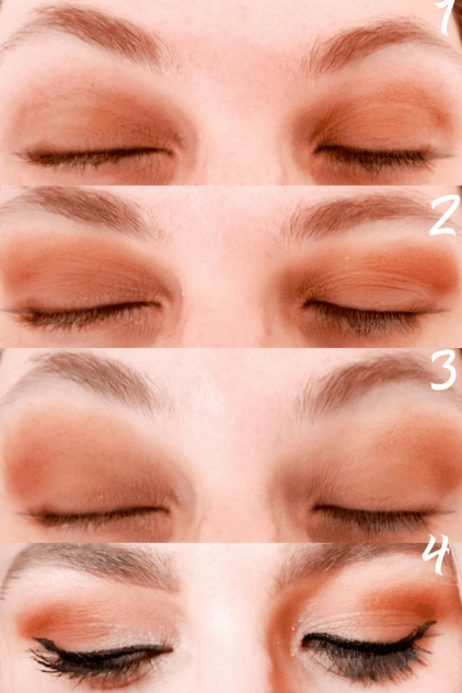Create an easy summer makeup look in 20 minutes with these make up recommendations and easy to follow tips. Warm smokey eye look is easy to create with the Urban Decay Naked Ultimate Basics Palette, good quality makeup is quick to apply so it'll shave minutes off the time it takes to get ready! #urbandecaynaked #eyeshadow #summereyeshadow