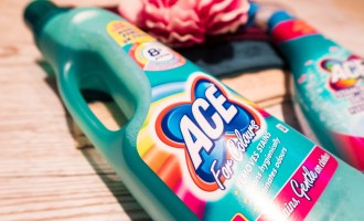 #ACEforSchool Challenge Close up of the Ace bottle