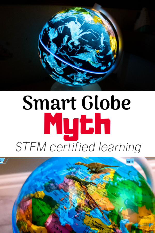 It can be difficult to find fun STEM certified gifts for girls and boys alike, but I think I've cracked it with this beautiful Smart Globe (Myth Edition). A beautiful nightlight, educational augmented reality and whimsical fairy tales are just a few features this children's globe boasts. READ THE FULL REVIEW & find out where to buy your own!