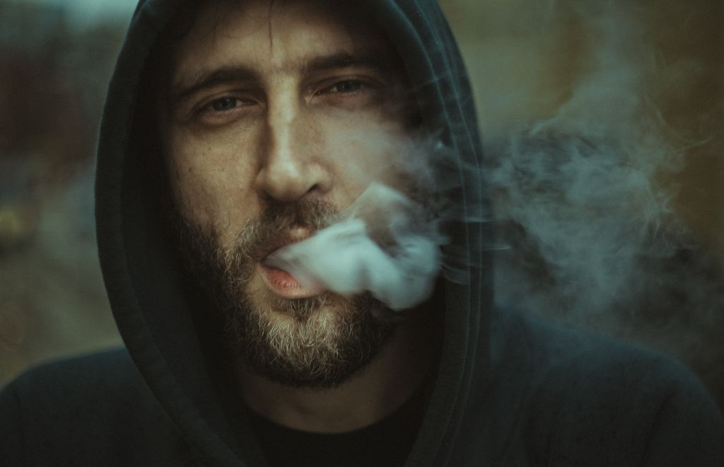Smoking man Not-So-Ugly Face of Evil