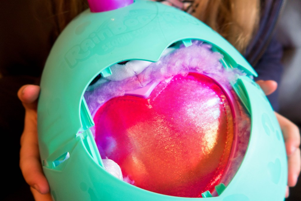 heart in the egg
