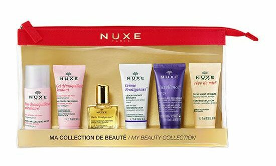 Nuxe travel minis